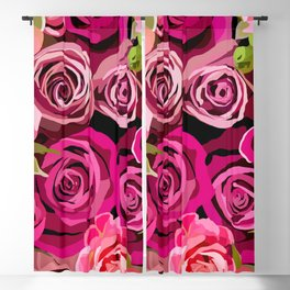 Roses Blackout Curtain