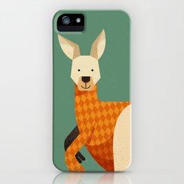Hello Kangaroo iPhone Case