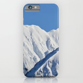 Portage Valley Mts. iPhone Case