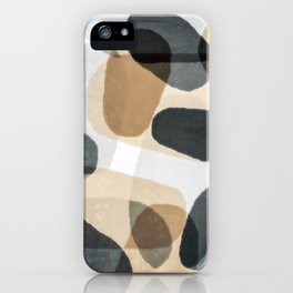 Abstract Ovals II iPhone Case