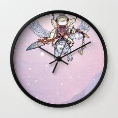 Snow Troll Wall Clock