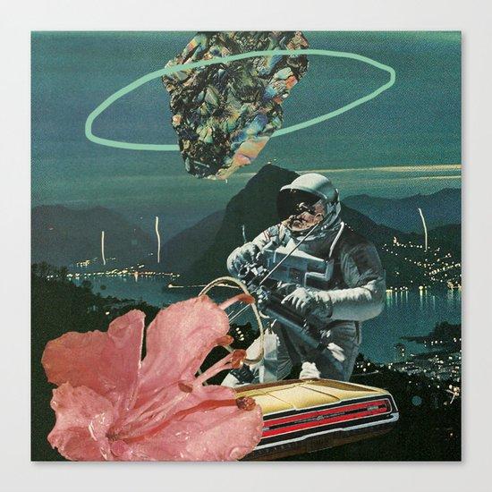 Midnight Ascent Canvas Print