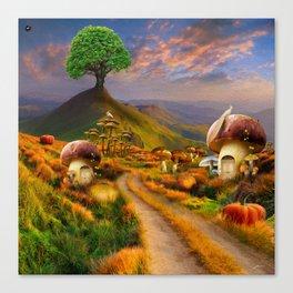 Hidden Village Canvas Print