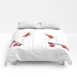 Roller skating maniacs Comforters