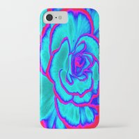 neon iPhone & iPod Cases featuring Neon by Dawn East Sider