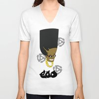 1989 V-neck T-shirts featuring EGO 1989 by Six10 Design