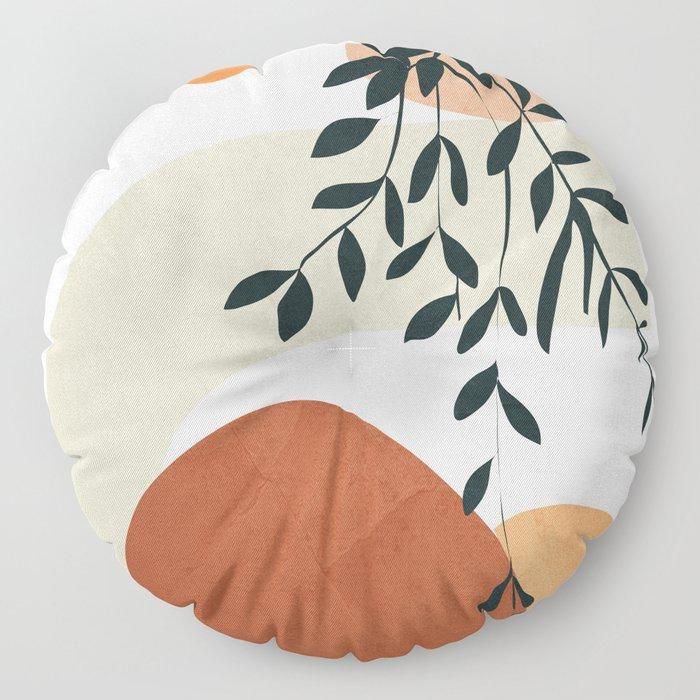 Soft Shapes I Floor Pillow