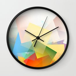Cubism Abstract 191 Wall Clock