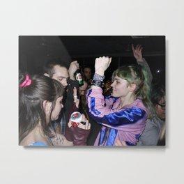 Grimes Dancing in Brooklyn  Metal Print