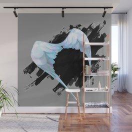Grunge Wings Wall Mural