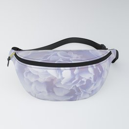 Flower Bouquet In Pastel Blue Color - #society6 #buyart Fanny Pack