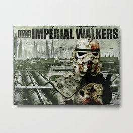 Imperial Walking Dead Metal Print