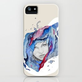 """""""Tess"""" by carographic iPhone Case"""