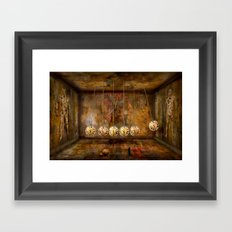Zeituhr ! Framed Art Print