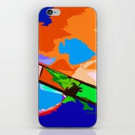 Biplane Aerobatics iPhone Skin