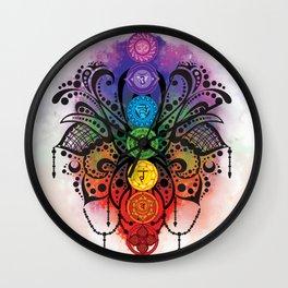 Chakra Dreams Wall Clock