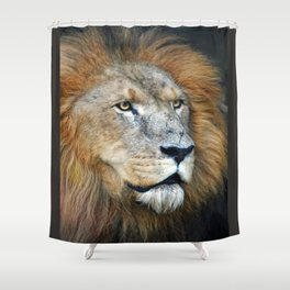 The Lion of Judah Shower Curtain