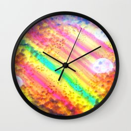 Colorfluid Wall Clock