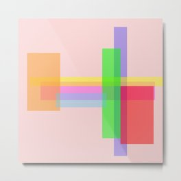 rectangle multiples Metal Print