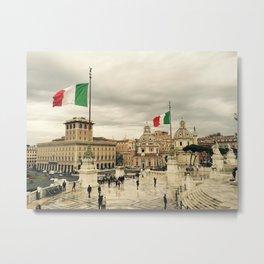 The Capital of Rome Metal Print