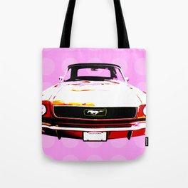 Pop Mustang Tote Bag