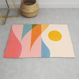 Abstraction_NEW_OCEAN_LAKE_Wonderful_Day_Minimalism_0699A Rug