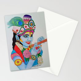 Young Krishna Stationery Cards