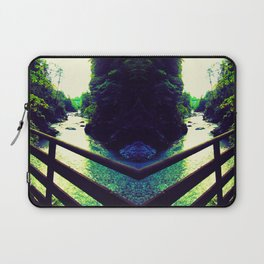 Torrent in the mountains Laptop Sleeve