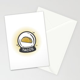 Tacos In Your Future Stationery Cards
