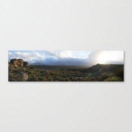Cederberg sunset Canvas Print