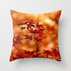 MAPLE MAGIC Throw Pillow
