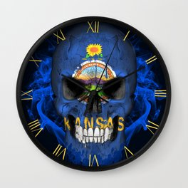 To The Core Collection: Kansas Wall Clock
