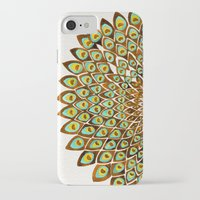 70s iPhone & iPod Cases featuring Peacock Mandala – 70s Palette by Cat Coquillette