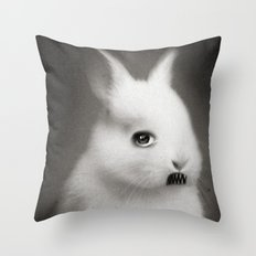 G.W Rabbit Throw Pillow