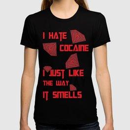 I hate Cocaine #4 T-shirt