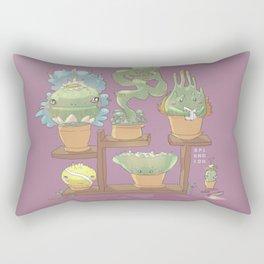 August's Plants Rectangular Pillow