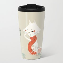 Running nose Travel Mug