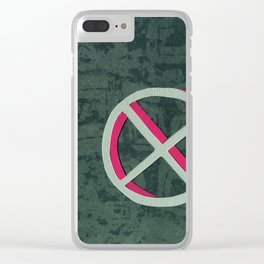 Mutation in Replication Clear iPhone Case