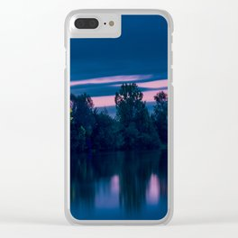 Dredging lake in Baden-Wurttemberg Clear iPhone Case