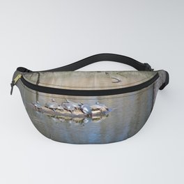Sun Bathing Turtles Fanny Pack