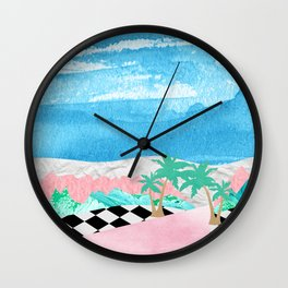 Welcome to Pastel Pointe Wall Clock