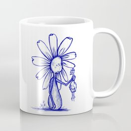 """It's Just Meat"" Flowerkid Coffee Mug"