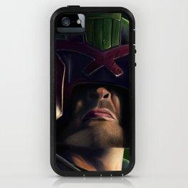Judge Dredd iPhone Case