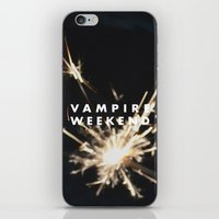 vampire weekend iPhone & iPod Skins featuring Vampire Weekend by alboradas