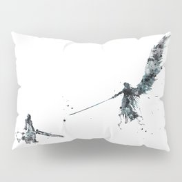 Final Fantasy Watercolor Pillow Sham