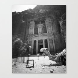 Petra Treasury Canvas Print