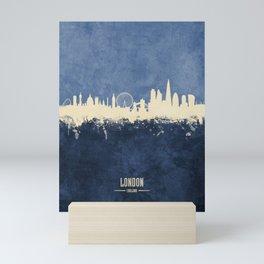 London England Skyline Mini Art Print