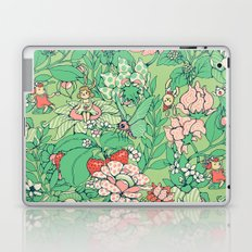 Garden party - sage tea version Laptop & iPad Skin