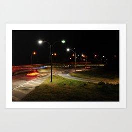 My way or the Highway Art Print
