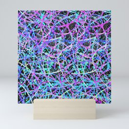 Informel Art Abstract G54 Mini Art Print